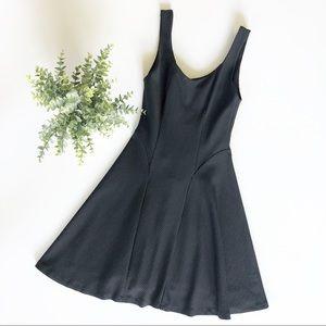 Alice + Olivia Sadie Pinstripe Fit Flare Dress 0